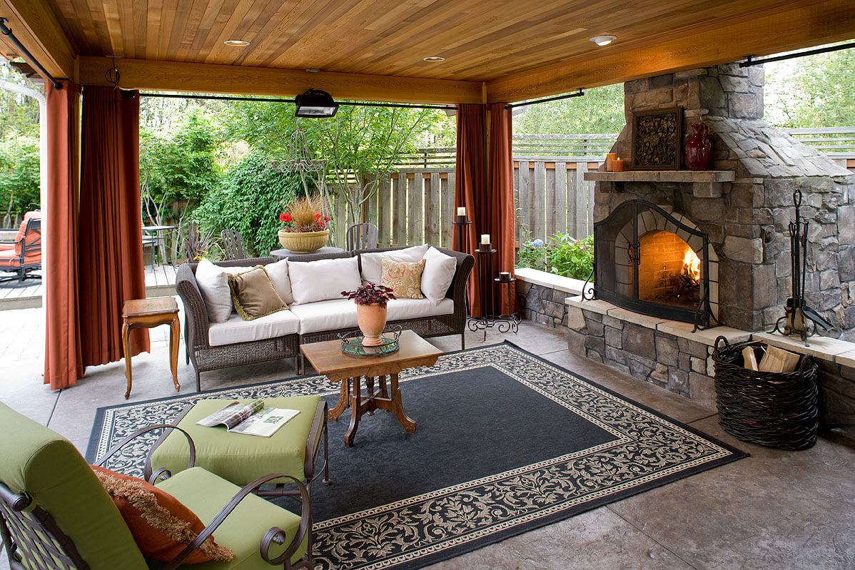 Best ideas about Outdoor Living Room . Save or Pin 5 Gorgeous Outdoor Rooms to Enhance Your Backyard Now.