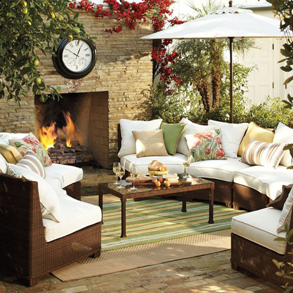 Best ideas about Outdoor Living Room . Save or Pin 15 Cozy Outdoor Living Space Now.
