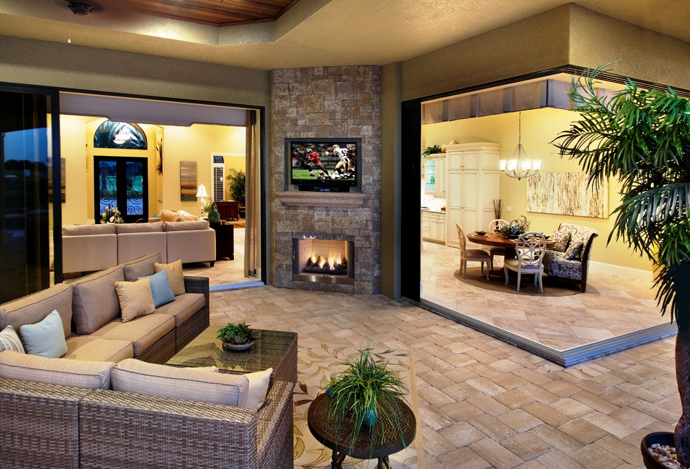 Best ideas about Outdoor Living Room . Save or Pin Outdoor Living Space Design Tampa Now.