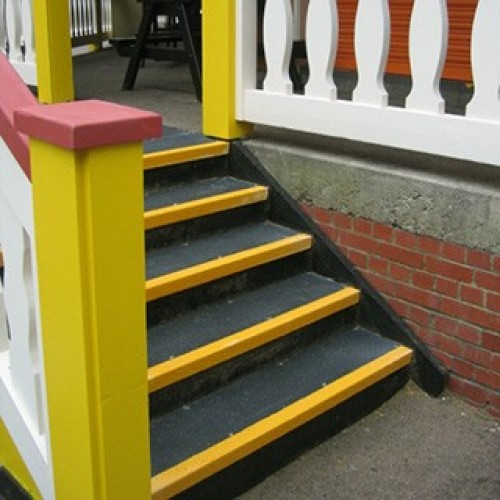 Best ideas about Outdoor Non Slip Stair Treads For Wood . Save or Pin 50 Stair Tread Safety Strips Anti Slip Stair Nosing Non Now.