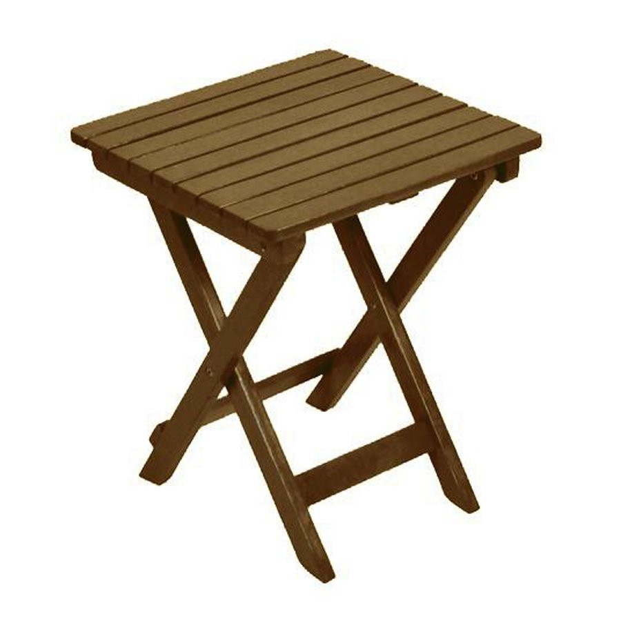 Best ideas about Outdoor Side Table . Save or Pin Garden Treasures Folding Outdoor Side Table LW 1203 01N Now.