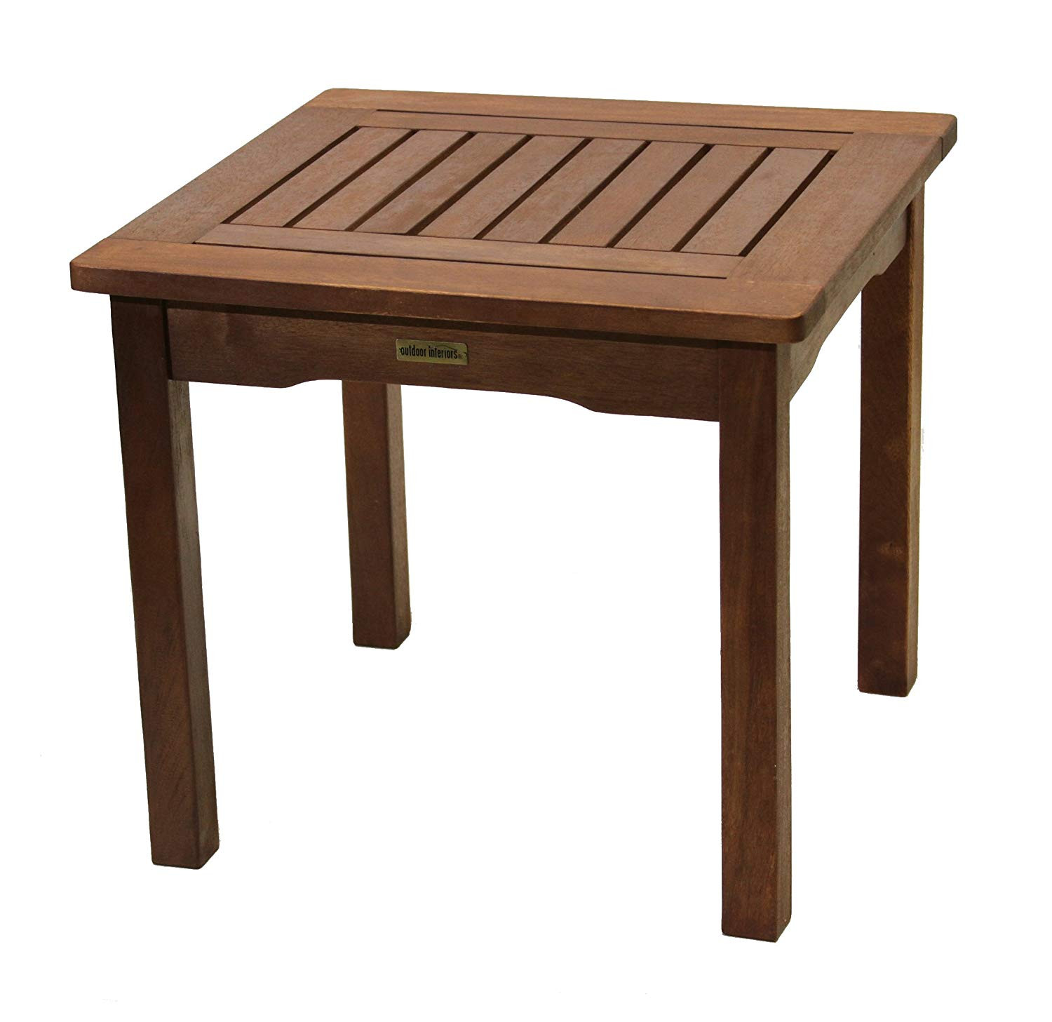Best ideas about Outdoor Side Table . Save or Pin All Weather End Table Eucalyptus Easy Assembly Garden Now.