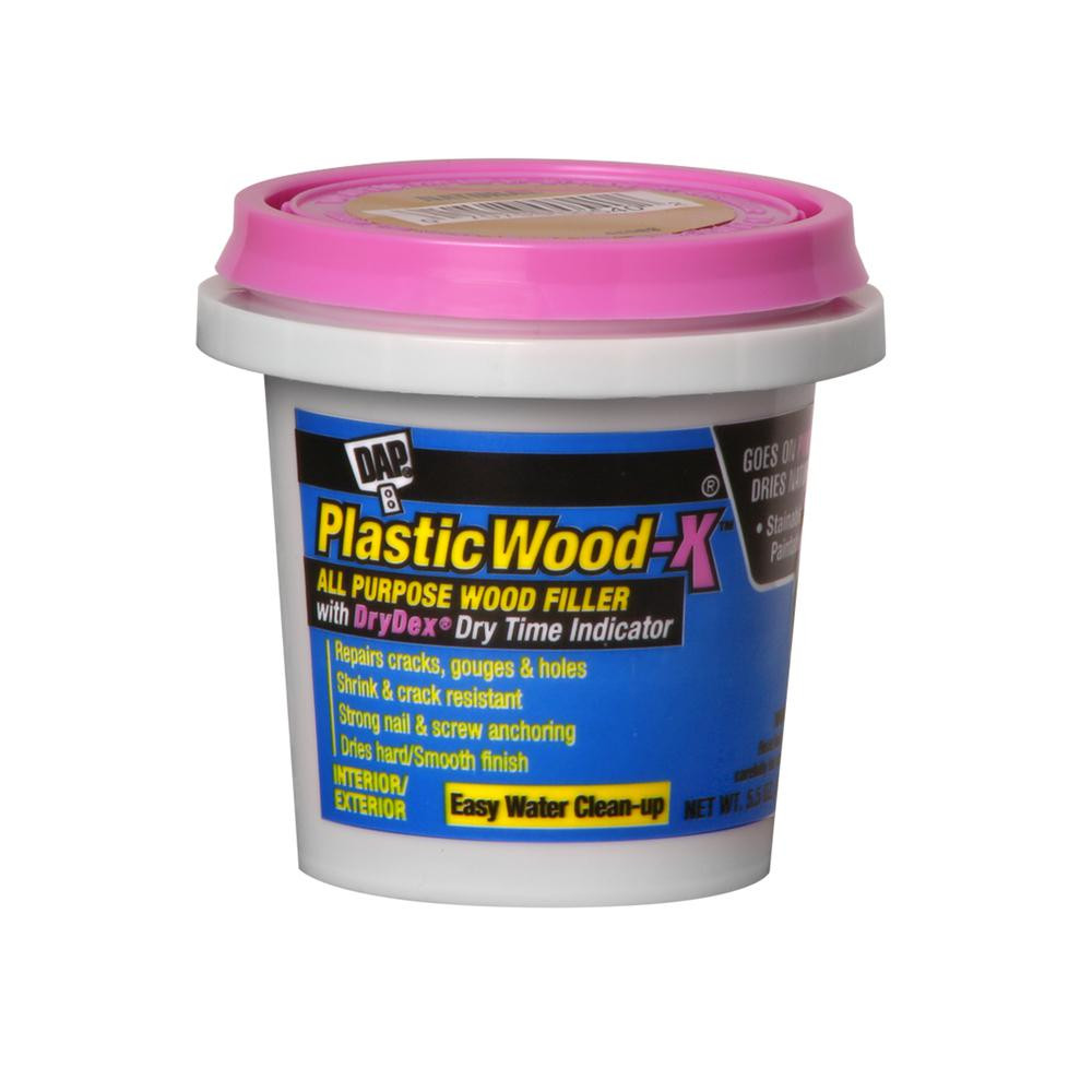 Best ideas about Outdoor Wood Filler . Save or Pin DAP Plastic Wood X 5 5 oz All Purpose Wood Filler Now.
