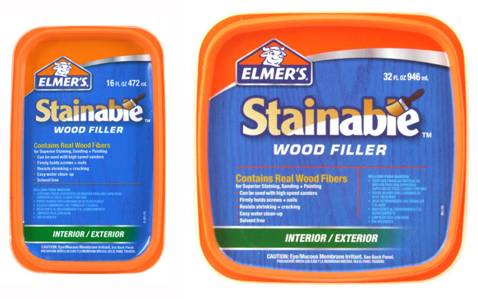 Best ideas about Outdoor Wood Filler . Save or Pin Elmer s Carpenter s Stainable Interior Exterior Wood Now.