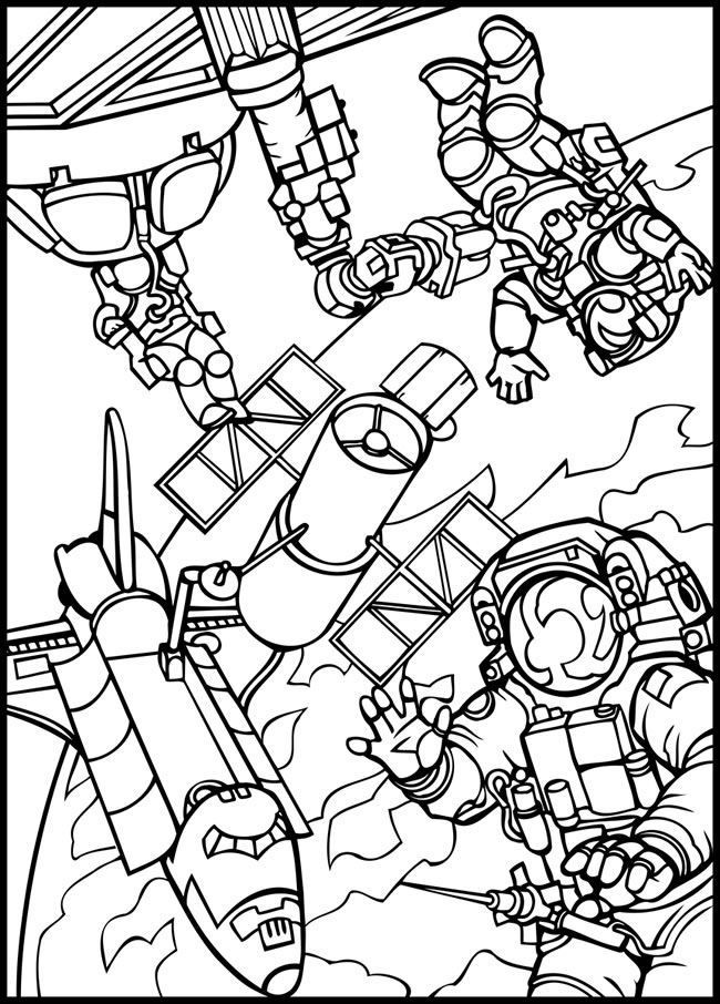 Outer Space Coloring Pages For Adults  Outer Space Coloring Pages For Kids Coloring Home