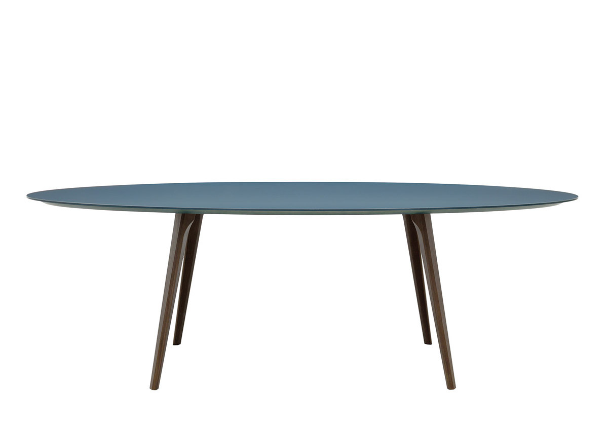 Best ideas about Oval Dining Table . Save or Pin Argo Oval Dining Table Contemporary Oval Dining Tables Now.