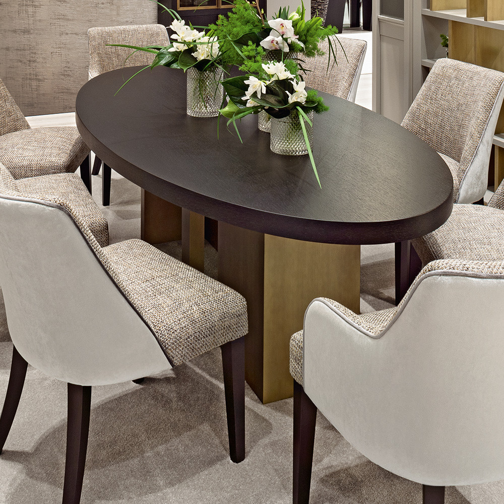 Best ideas about Oval Dining Table . Save or Pin Italian High End Contemporary Oval Dining Table Now.