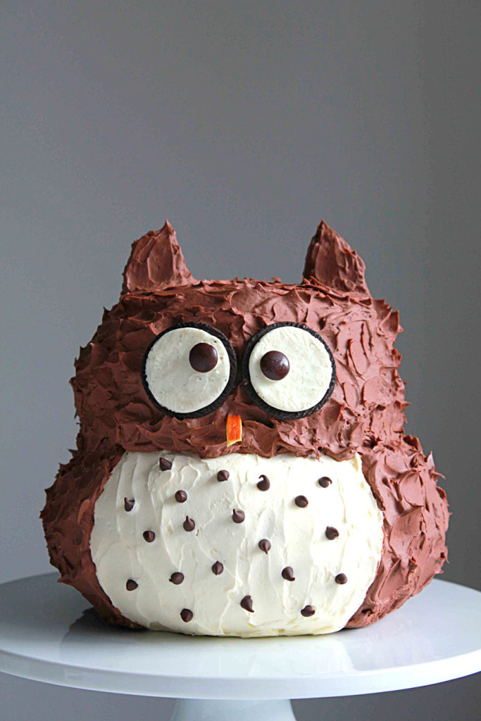 Owl Birthday Cake  Owl Cake Oh Sweet Day