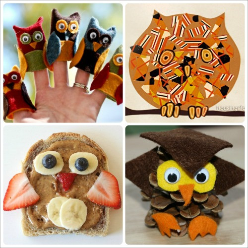 Best ideas about Owl Crafts For Preschoolers . Save or Pin Fall Owl Crafts and Activities for Kids Now.