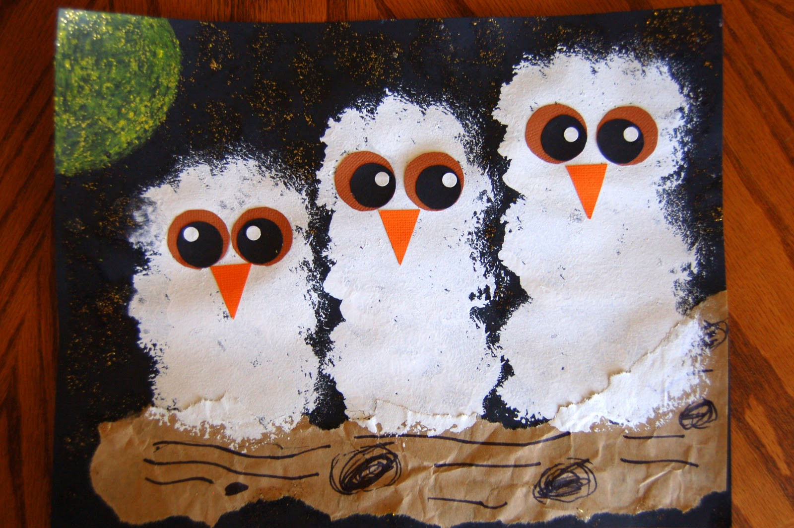 """Best ideas about Owl Crafts For Preschoolers . Save or Pin """"Owl Babies"""" Craft Now."""