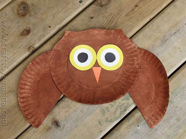 Best ideas about Owl Crafts For Preschoolers . Save or Pin Paper Plate Owl Craft make a cute owl from a paper plate Now.