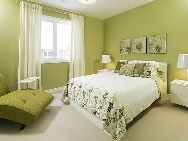 Best ideas about Paint Colors For Bedroom . Save or Pin How to decorate bedroom with green colour Now.