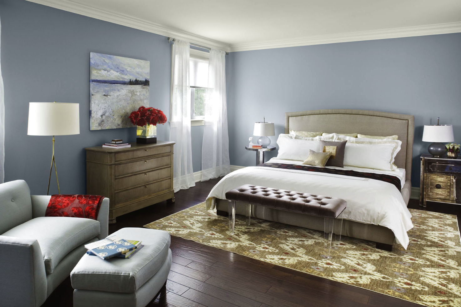 Best ideas about Paint Colors For Bedroom . Save or Pin Applying the Accurate Bedroom Paint Colors MidCityEast Now.