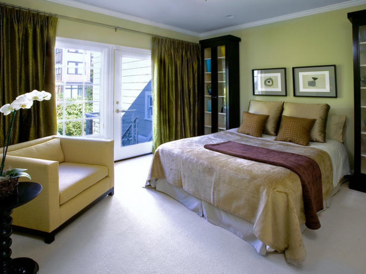 Best ideas about Paint Colors For Bedroom . Save or Pin Sage dining rooms calming bedroom paint colors bedroom Now.