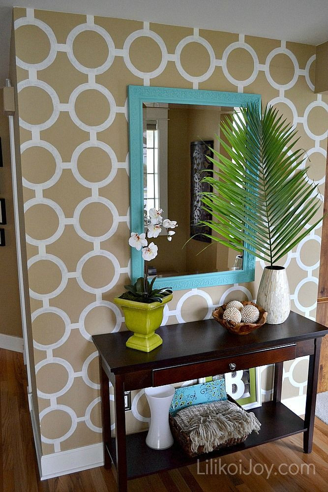Best ideas about Painted Accent Walls . Save or Pin 22 best images about Paint on Pinterest Now.