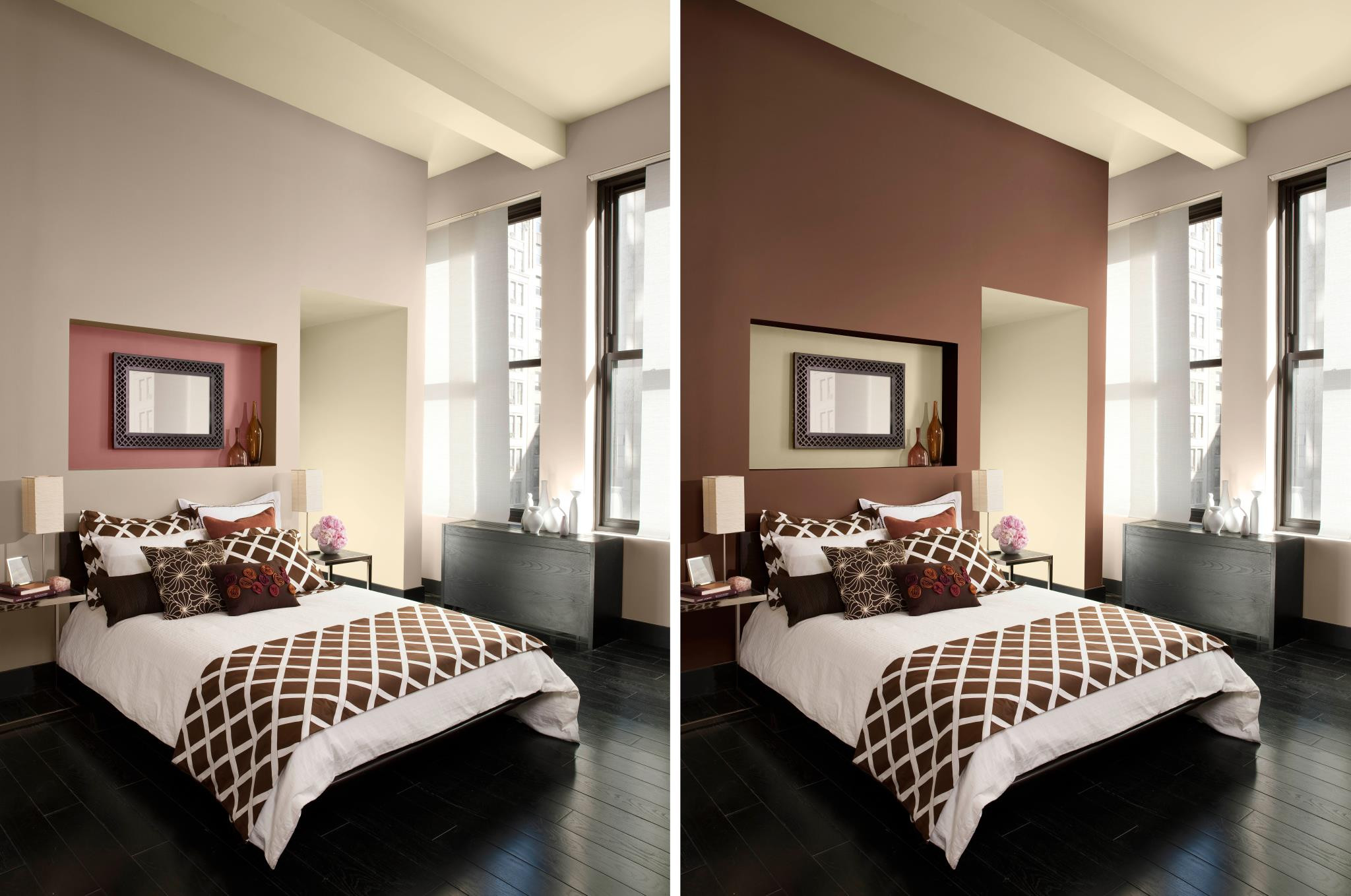 Best ideas about Painted Accent Walls . Save or Pin how to paint an accent wall Now.