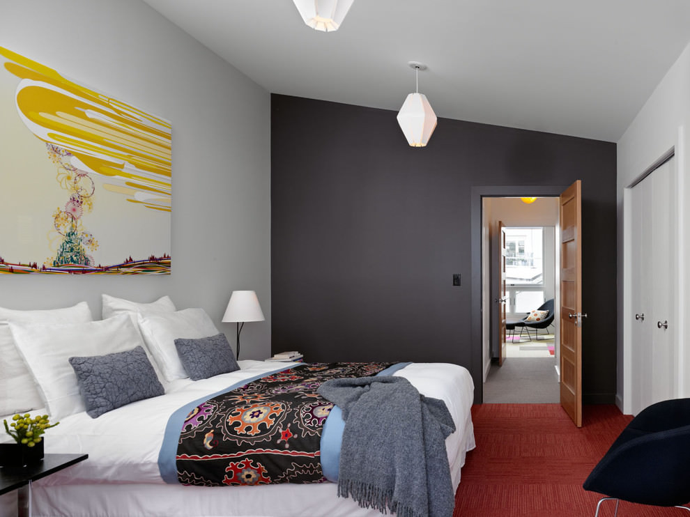 Best ideas about Painted Accent Walls . Save or Pin 25 Accent Wall Paint Designs Decor Ideas Now.