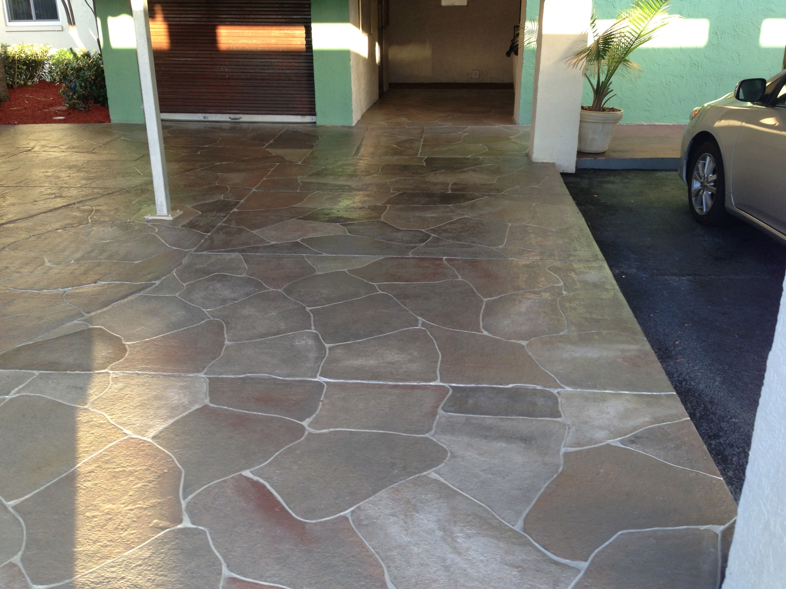 Best ideas about Painted Concrete Patio . Save or Pin Concrete Designs Florida Now.