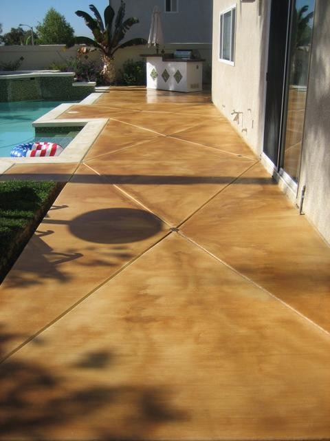 Best ideas about Painted Concrete Patio . Save or Pin Vero Beach Painting & Faux Finishes 772 801 9711 Now.