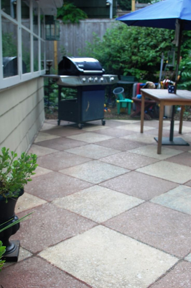Best ideas about Painted Concrete Patio . Save or Pin 1000 images about Painted Concrete Patios on Pinterest Now.