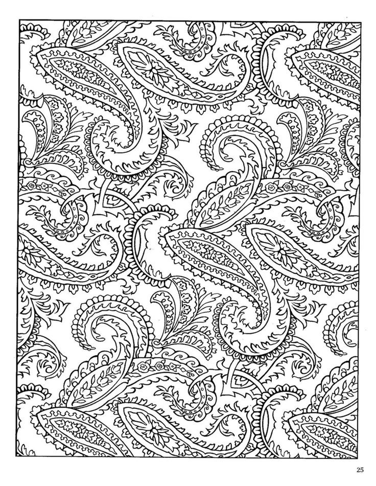 Paisley Coloring Books  212 best images about paisley on Pinterest