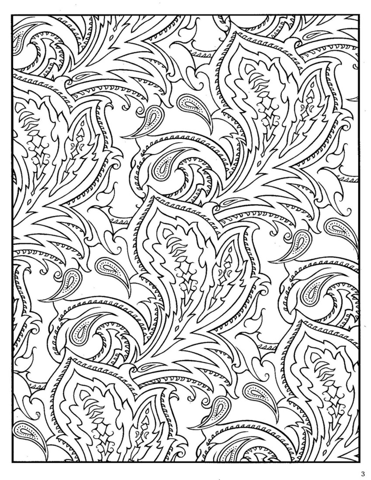 Paisley Coloring Books  Paisley Coloring Pages AZ Coloring Pages