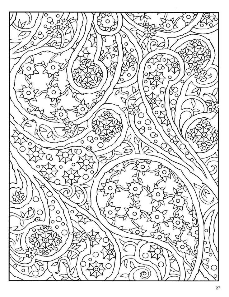 Paisley Coloring Books  Paisley Designs Coloring Book Bing Imagens