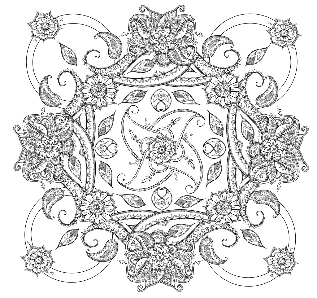 Paisley Printable Coloring Pages  Paisley Coloring Pages Free Printable Coloring Home