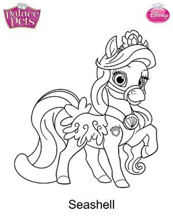 Palace Pets Coloring Sheets For Girls  Kids n fun