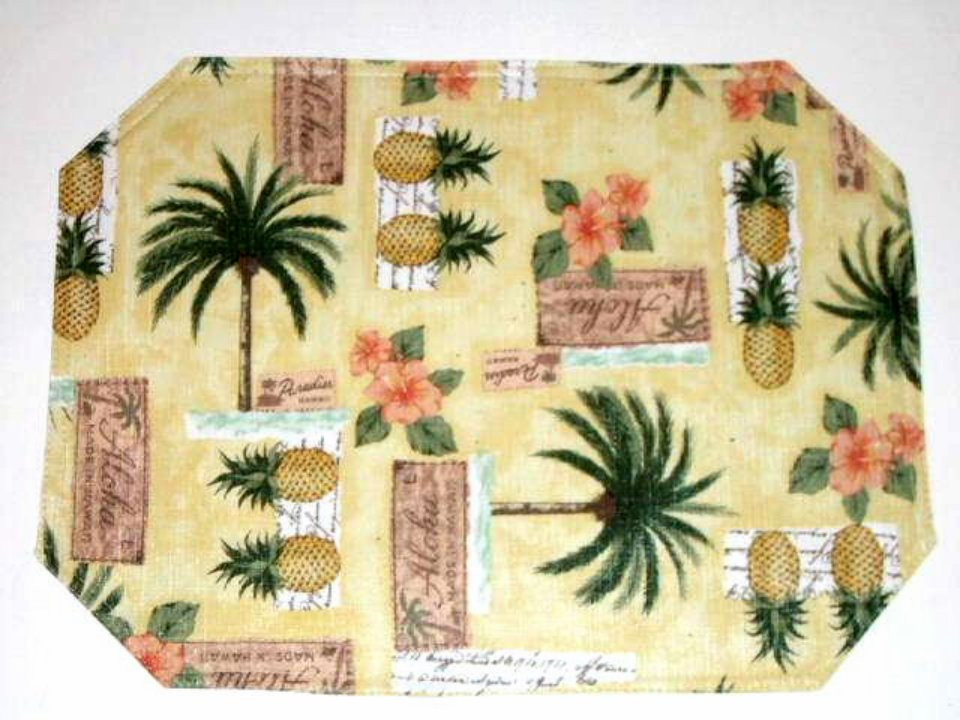 Best ideas about Palm Tree Kitchen Decor . Save or Pin Palm Trees Pineapples Placemats Tropical Kitchen Decor Now.
