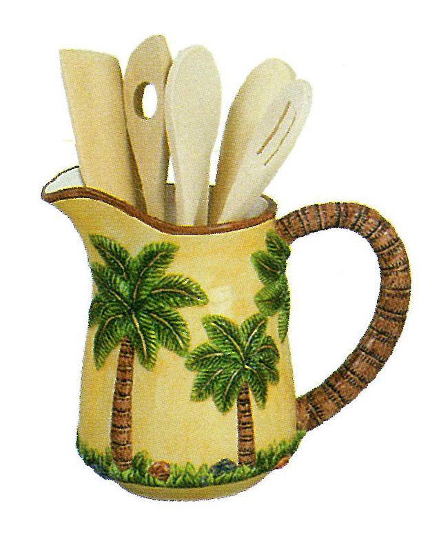 Best ideas about Palm Tree Kitchen Decor . Save or Pin Pin by Ms Dean on PALM TREES KITCHEN DECOR Now.