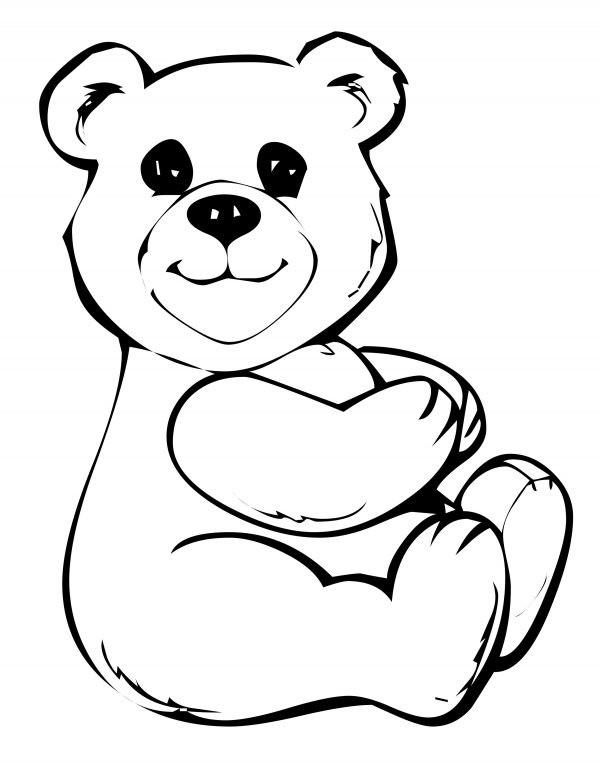 Panda Bear Coloring Pages  Cute Panda Bear Coloring Pages for You Gianfreda