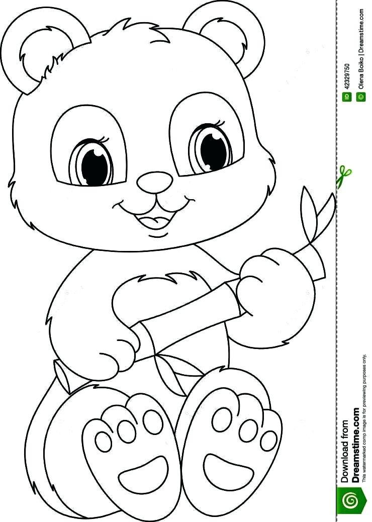 Panda Bear Coloring Pages  Panda Bear Coloring Pages Printable