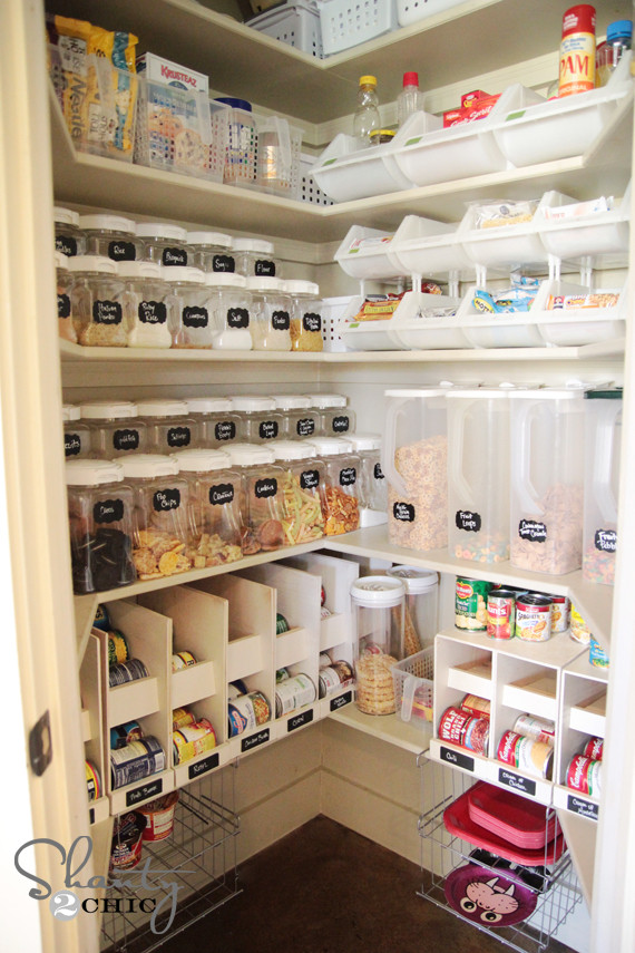 Pantry Organizers DIY  30 Clever Ideas to Organize Your Kitchen