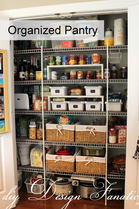 Pantry Organizers DIY  pantry organization