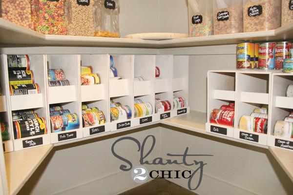 Pantry Organizers DIY  DIY Canned Food Organizers