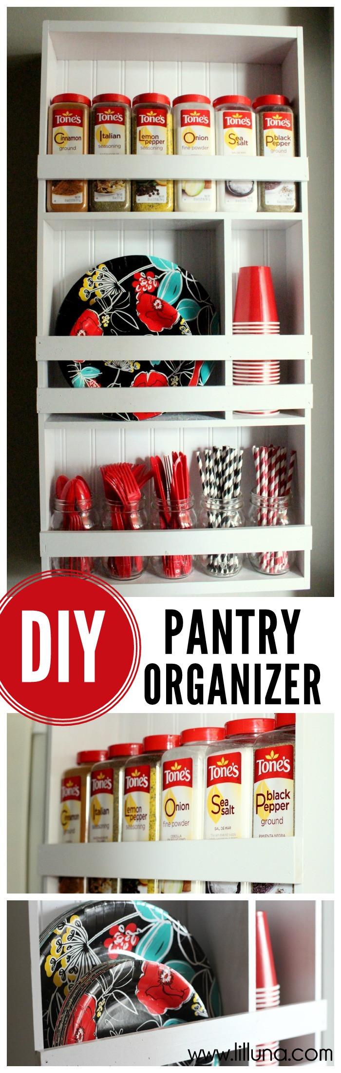 Pantry Organizers DIY  Pantry Organizer Tutorial