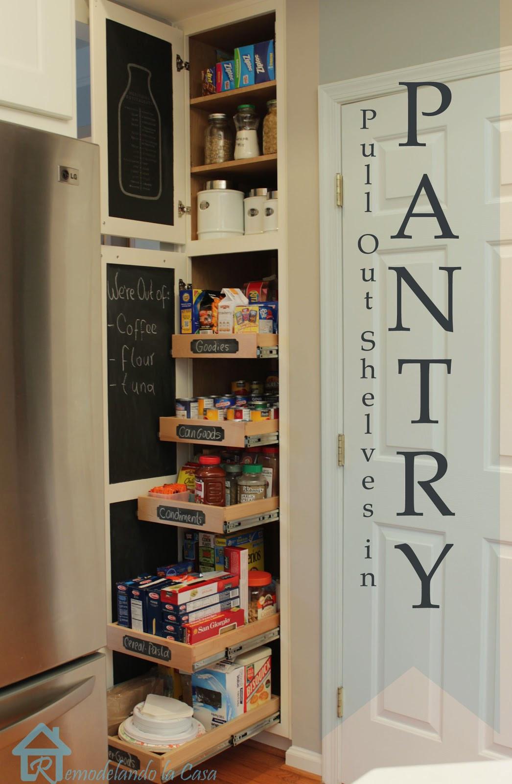 Pantry Organizers DIY  DIY Kitchen Organization Ideas Remodelando la Casa