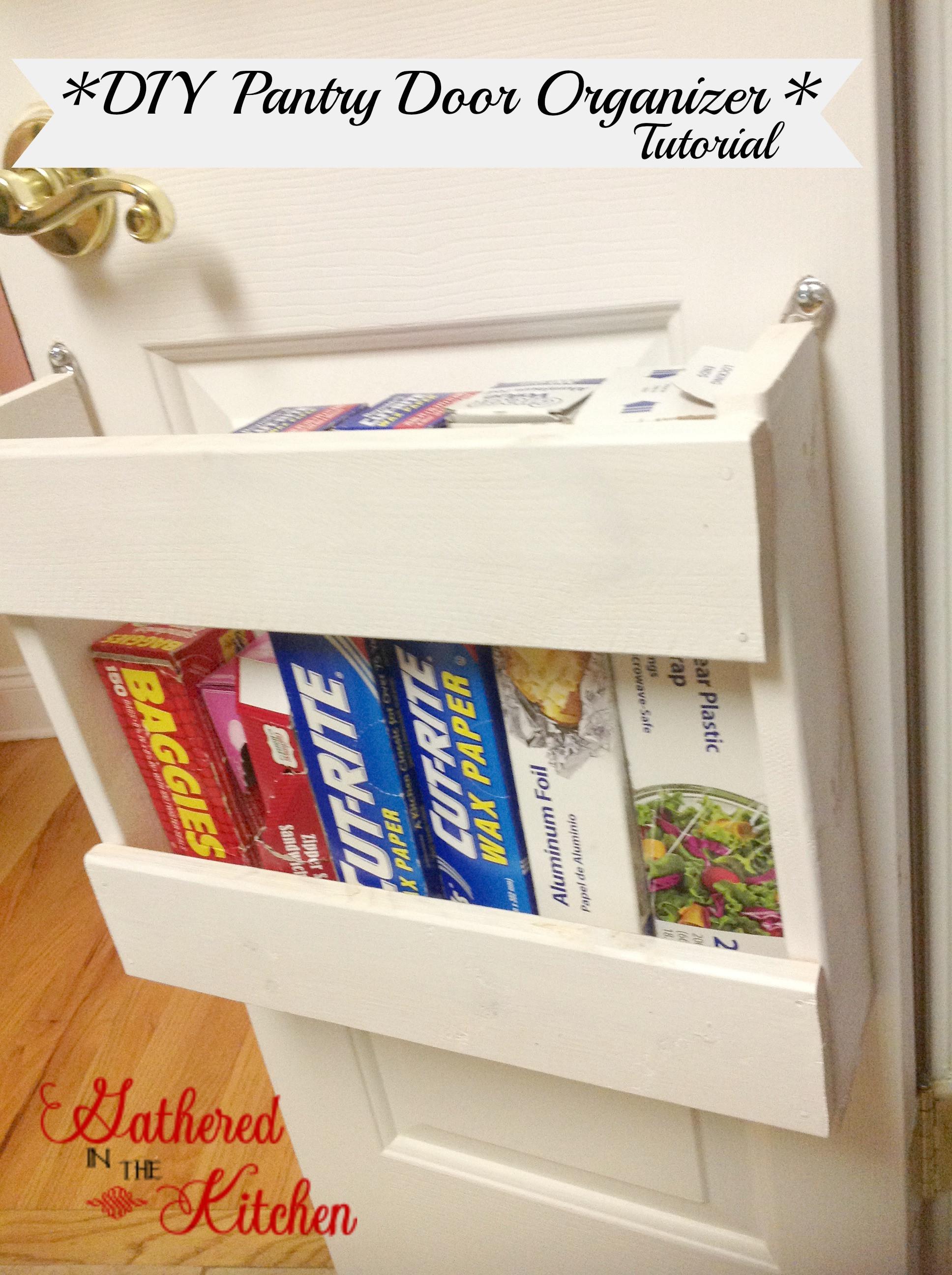 Pantry Organizers DIY  Pantry Organizer DIY Foil & More Organizer