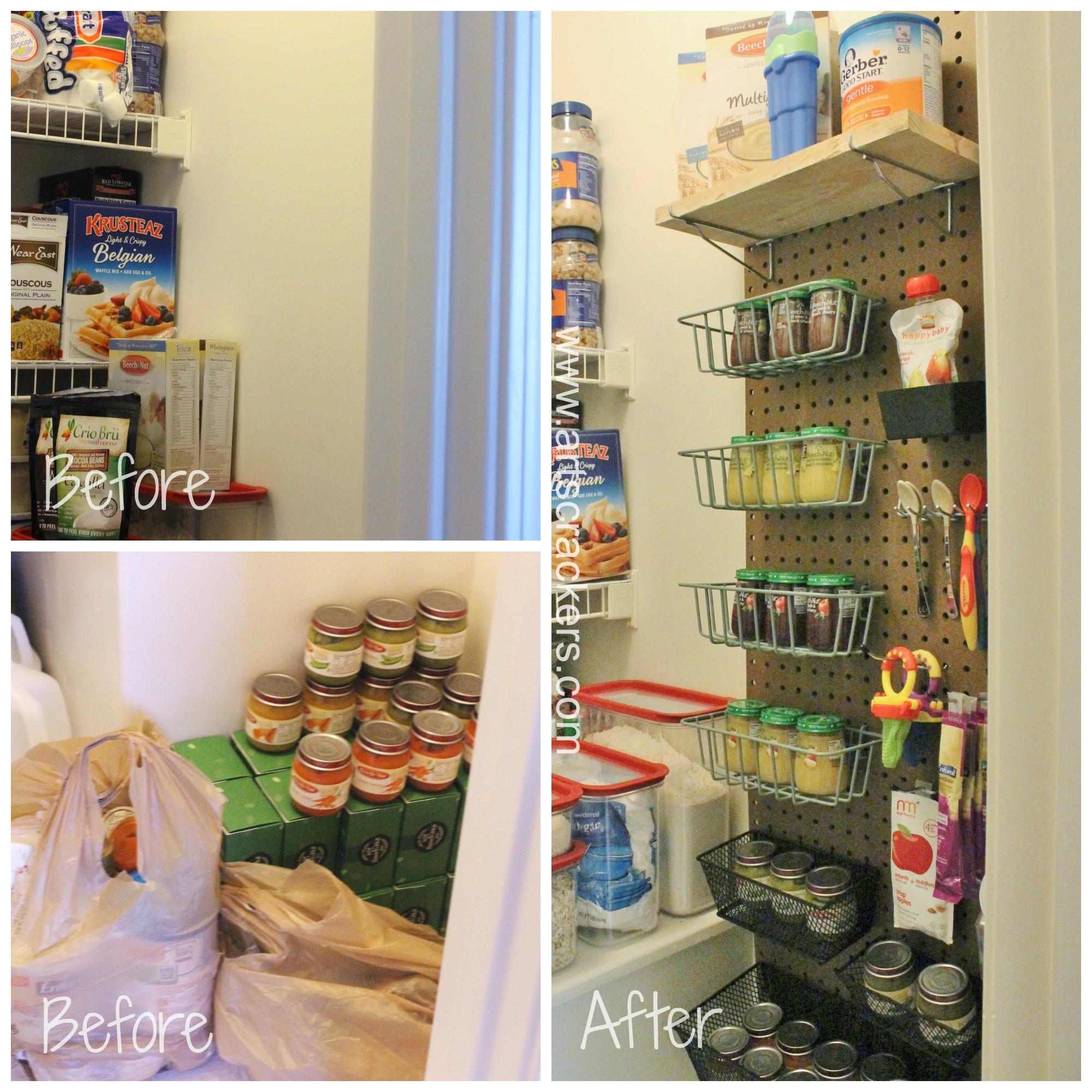 Pantry Organizers DIY  DIY Pegboard Pantry Organizer