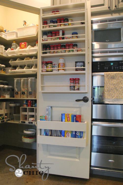 Pantry Organizers DIY  Kitchen Organization DIY Foil & More Organizer Shanty