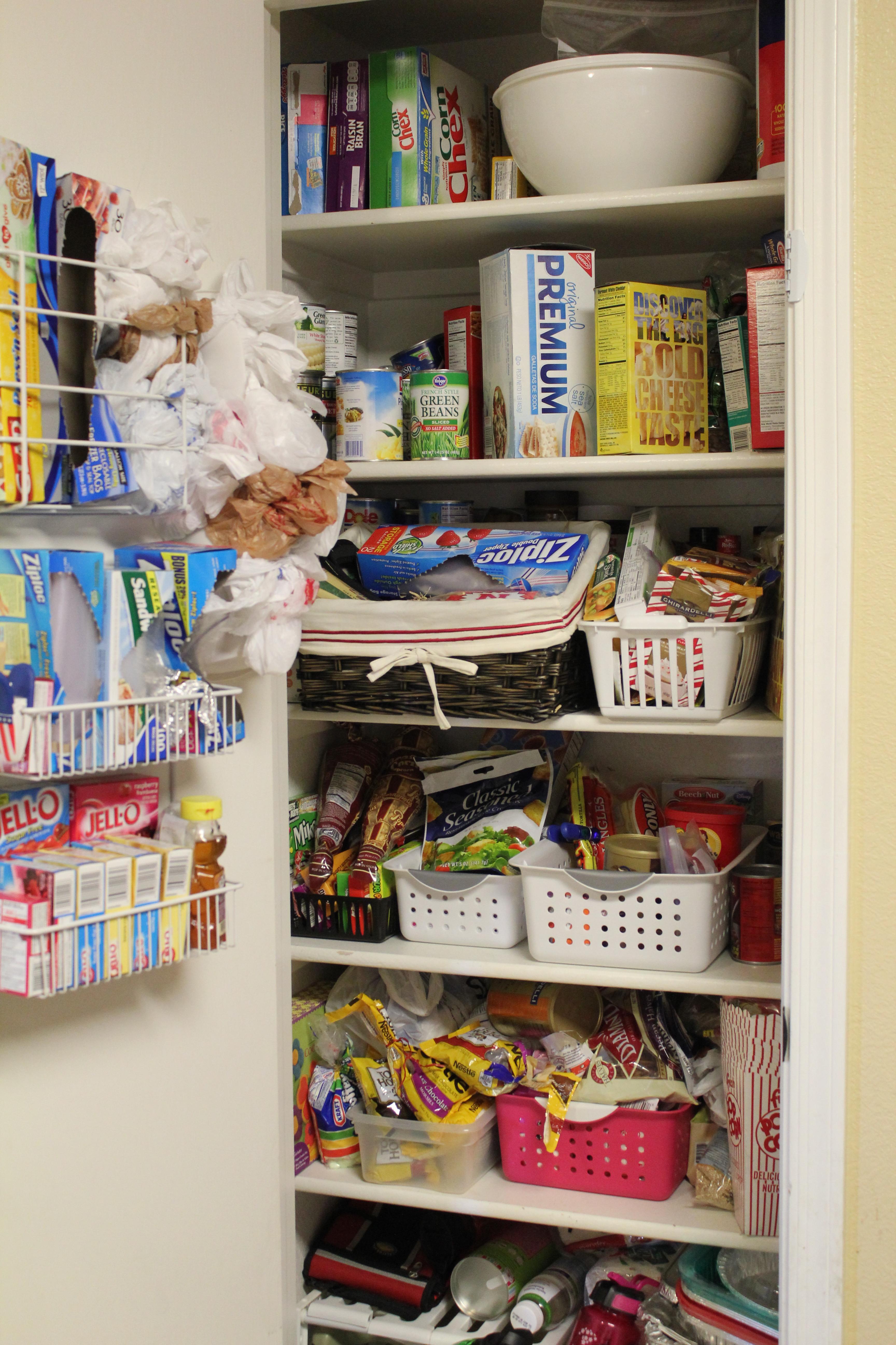 Pantry Organizers DIY  Pantry Organization Pantry Challenge Finale