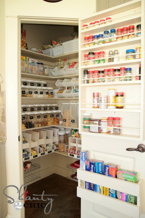 Pantry Organizers DIY  Pantry Organization Tips Clean and Scentsible