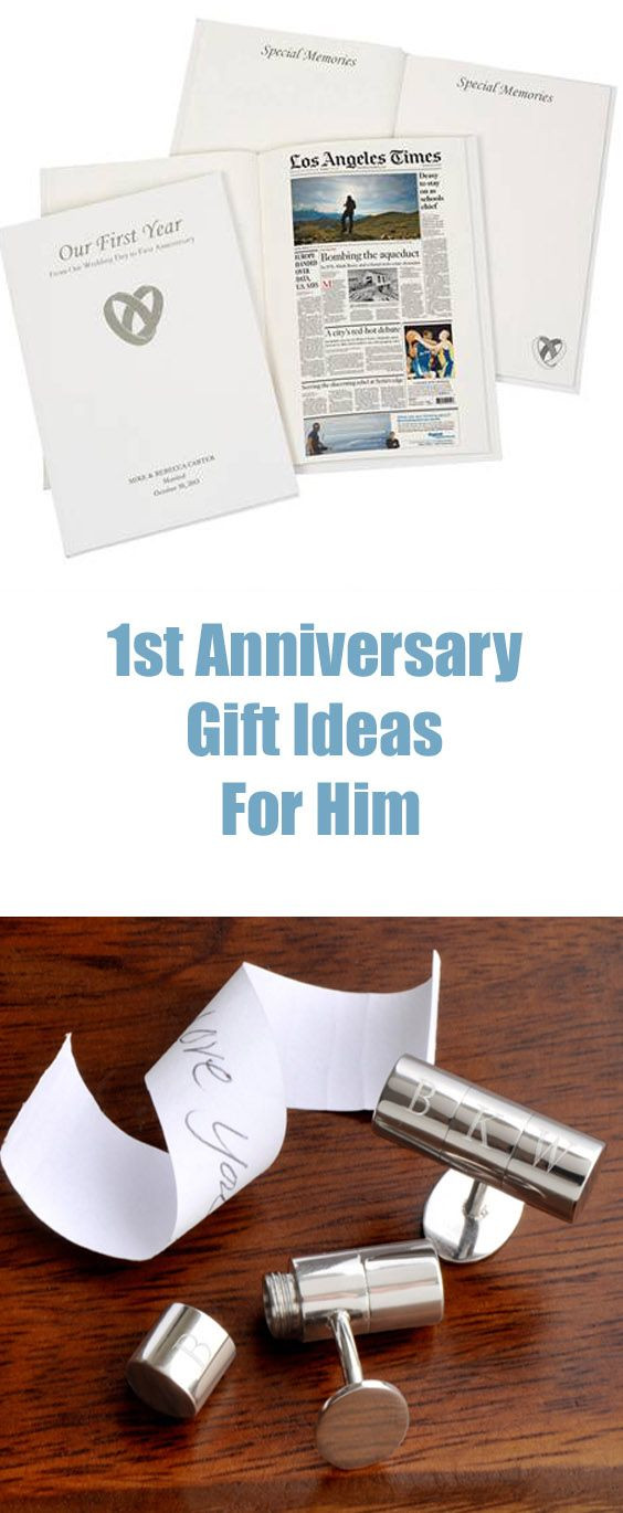 Best ideas about Paper Anniversary Gift Ideas For Him . Save or Pin 1st Anniversary t ideas for him are traditionally made Now.