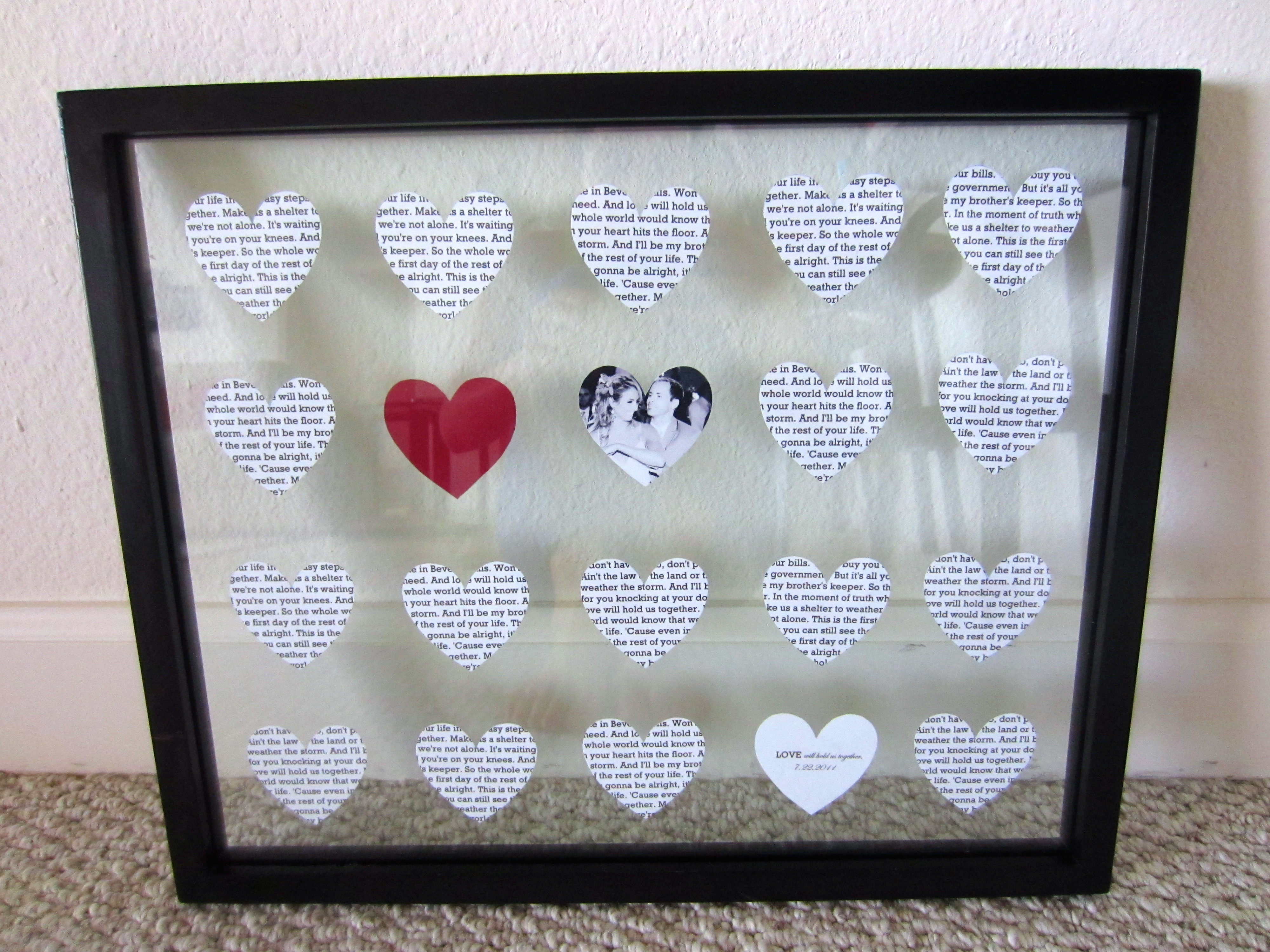 Best ideas about Paper Anniversary Gift Ideas For Him . Save or Pin DIY 1 Year Anniversary Gift paper Now.