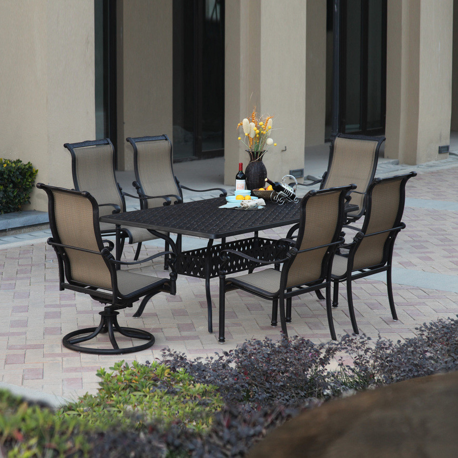 Best ideas about Patio Furniture Set . Save or Pin 18 special features of Patio dining sets lowes Now.
