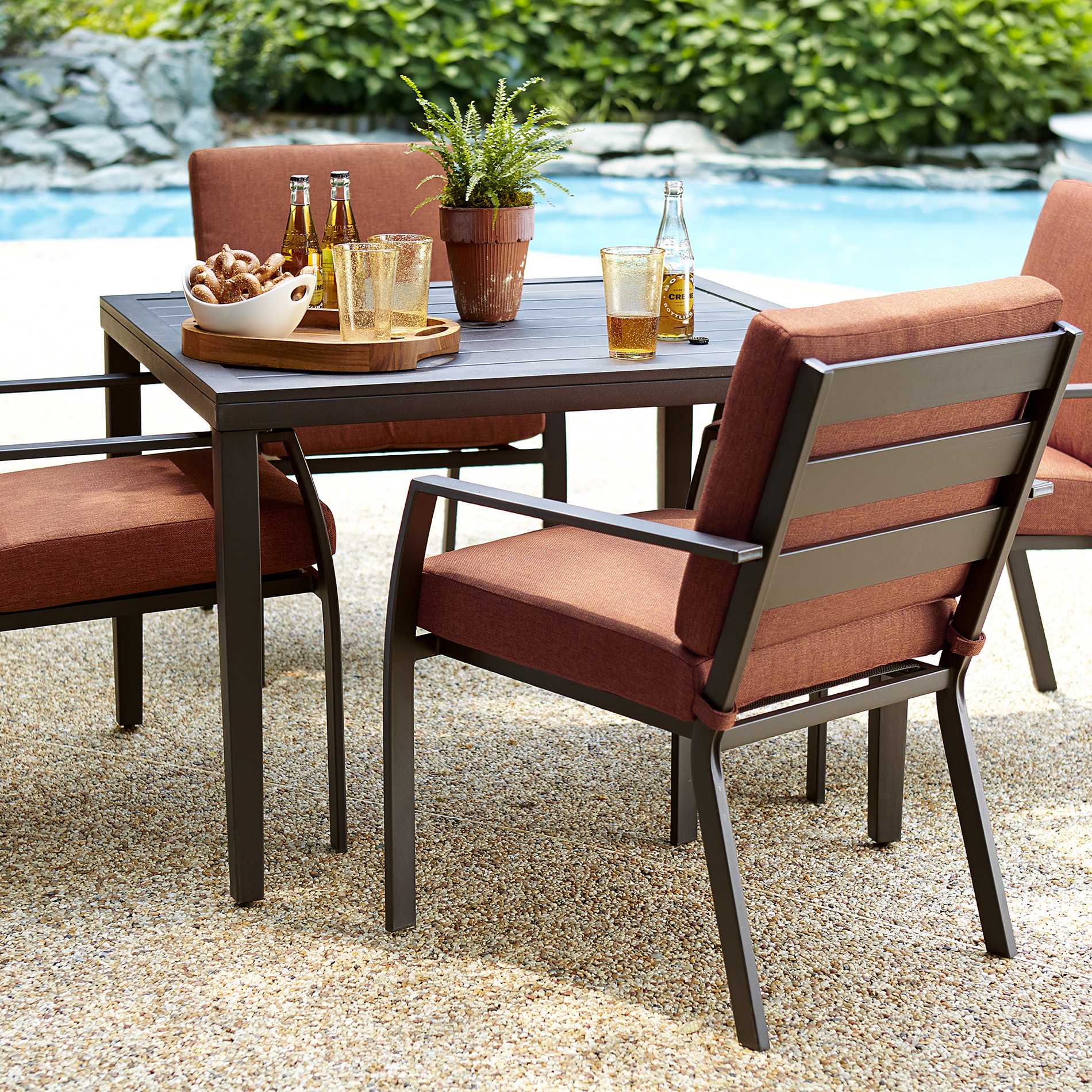 Best ideas about Patio Furniture Set . Save or Pin Ty Pennington Brookline 5 Piece Dining Set Limited Now.