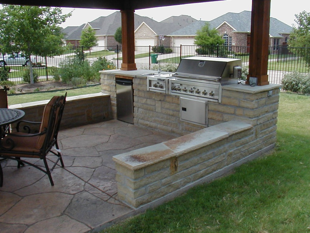 Best ideas about Patio Kitchen Ideas . Save or Pin Cozy Open Air Kitchen Design Idea – Interior Design Now.