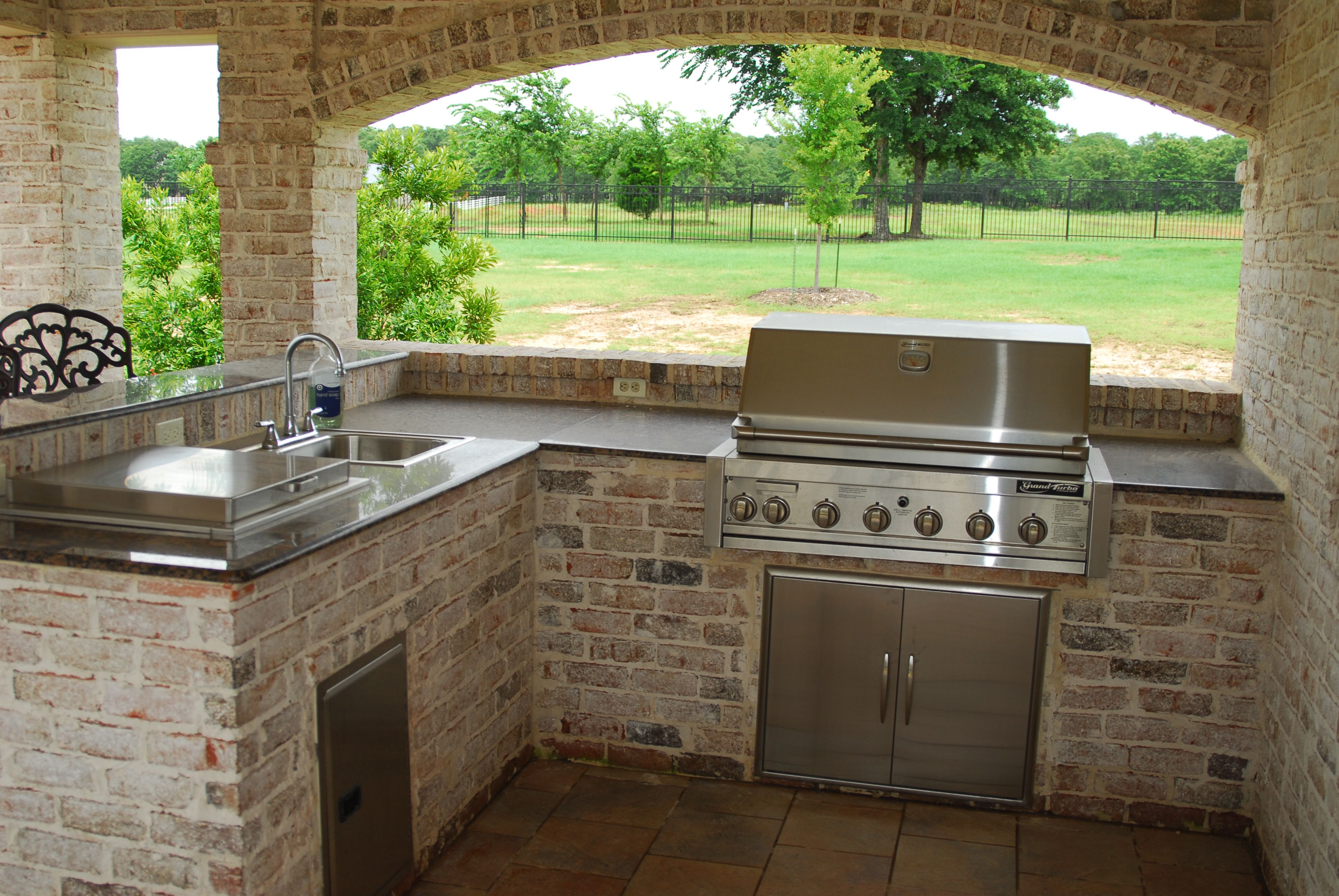 Best ideas about Patio Kitchen Ideas . Save or Pin Outdoor Kitchen Ideas and How to Site It Right Traba Homes Now.