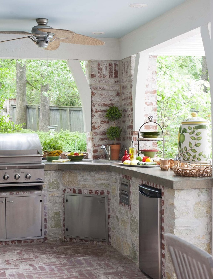 Best ideas about Patio Kitchen Ideas . Save or Pin 56 Cool Outdoor Kitchen Designs Now.